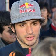 Carlos Sainz durante su rueda de prensa en Jerez - LaF1
