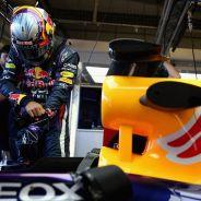 Carlos Sainz en los test de jóvenes pilotos