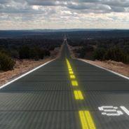 La Ruta 66 mira al sol