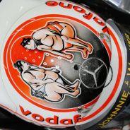 Detalle del casco de Jenson Button - LaF1