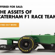 Caterham subastará dos monoplazas de 2014 la semana que viene - LaF1