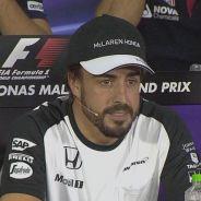 Fernando Alonso, hoy en rueda de prensa - LaF1