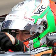 Alfonso Celis en los test postcarrera del GP de España - LaF1