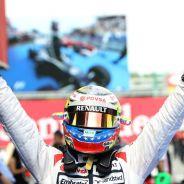 Maldonado ganó su única carrera con Williams - LaF1
