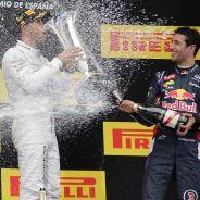 Podio del Gran Premio de España 2014 - LaF1