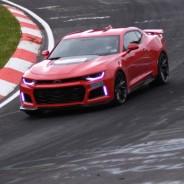 """El Chevrolet Camaro ZL1 2017 marca un tiempo de 7'29,60"""" en Nürburgring - SoyMotor.com"""