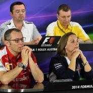 Así fue la conferencia de prensa en Australia con los jefes de equipo