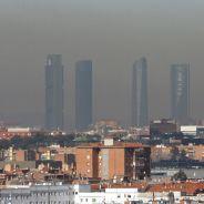 Imagen de una jornada de alta contaminación en Madrid - SoyMotor