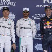 Los tres pilotos más rápidos de la clasificación - LaF1