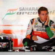Daniel Juncadella en el box de Force India - LaF1.es