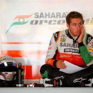 Imagen de archivo de cuando Juncadella realizó unos test para Force India en el pasado - LaF1