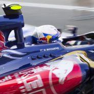 Daniel Ricciardo en el Toro Rosso STR8 - LaF1