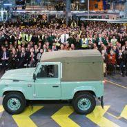 Evento conmemorativo en la fábrica en el fin de la producción -SoyMotor