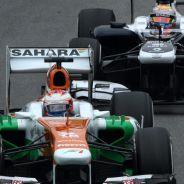 Paul di Resta lucha con Pastor Maldonado en Brasil - LaF1