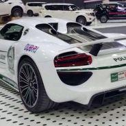 Porsche 918 Spyder de la policía de Dubai -SoyMotor