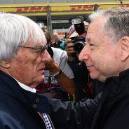 Bernie Ecclestone y Jean Todt - LaF1