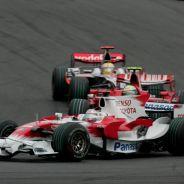 Jarno Trulli a los mandos del Toyota en 2008 - LaF1.es