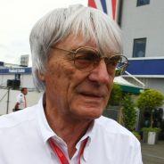 Ecclestone, en Silverstone durante un GP - LaF1