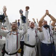 El equipo Williams celebra el podio de Bottas en Canadá - LaF1
