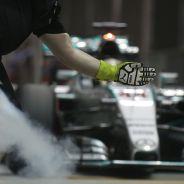Lewis Hamilton en el GP de Singapur 2015 - LaF1