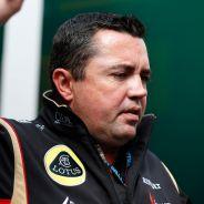 Eric Boullier en el pasado Gran Premio de Bélgica -  LaF1
