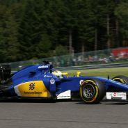 Marcus Ericsson en Spa-Francorchamps - LaF1