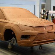 Modelado en arcilla del diseño final del nuevo Seat Ateca - SoyMotor