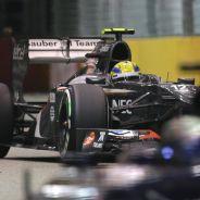 Esteban Gutiérrez fue 12º en Singapur - LaF1