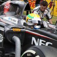Esteban Gutiérrez en la parrilla de salida de Montmeló - LaF1