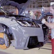 Vídeo dle proceso de fabricación del Audi TT RS 2017 -SOyMotor