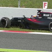 Alonso abandona en la carrera de casa - LaF1