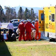 Así quedo el MP4-30 de Alonso tras el accidente - LaF1.es