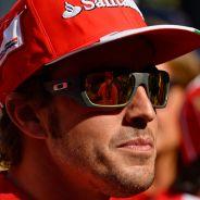Fernando Alonso y Felipe Massa con la prensa - LaF1