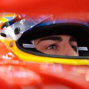 Fernando Alonso en el Ferrari F138 - LaF1
