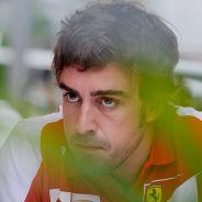 Fernando Alonso ayer en Singapur - LaF1