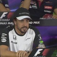 Fernando Alonso en la rueda de prensa de la FIA - LaF1.es