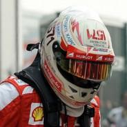 Fernando Alonso y Felipe Massa en el parque cerrado de Buddh - LaF1