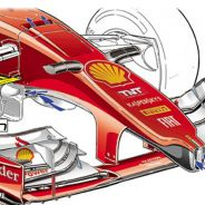 Omnicorse interpreta cómo será el frontal del nuevo Ferrari - LaF1