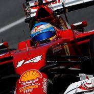 Fernando Alonso durante la clasificación de España - LaF1