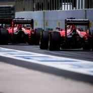 Ferrari no estuvo tan lejos de Mercedes en Brasil y eso sube los ánimos de Arrivabene - LaF1