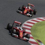 El presidente de Ferrari no celebra el doble podio en Barcelona - LaF1