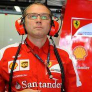 Stefano Domenicali en el box de Ferrari - LaF1.es