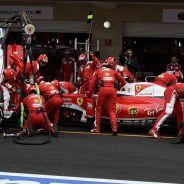 Escena de Ferrari en el GP de México - LaF1
