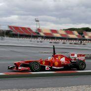 Fernando Alonso en los tests de pretemporada de 2013 - LaF1