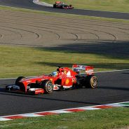 Fernando Alonso y Felipe Massa en Japón - LaF1