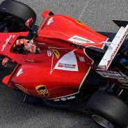 El F14T de Ferrari en acción durante este 2014 - LaF1.es