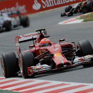 Kimi Räikkönen en Montmeló - LaF1
