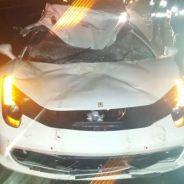Ferrari 458 Italia accidentado en Sudáfrica