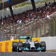 Nico Rosberg en el pasado Gran Premio de España - LaF1