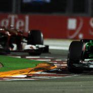 Paul di Resta en el pasado Gran Premio de Singapur - LaF1